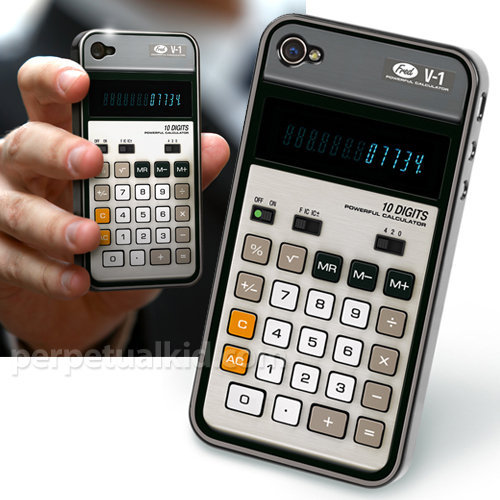 Retro Calculator Case