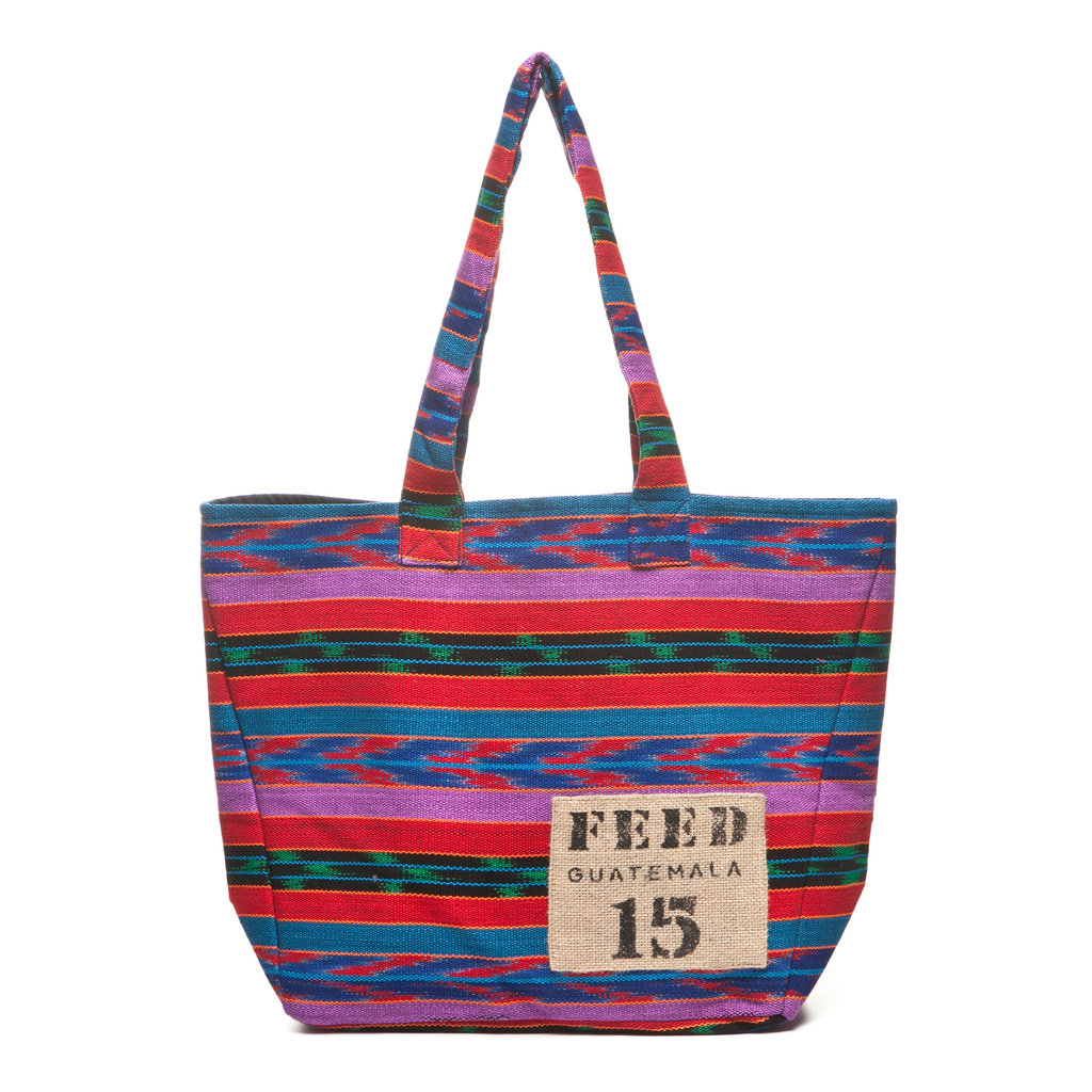 """My girlfriends would love this tote for their weekend farmers markets and thrifting adventures. The best part? Each purchase of this FEED Guatemala bag will provide 15 school meals through the UN World Food Programme. The gift that keeps on giving . . ."" — Chi Diem Chau, associate editor  FEED Guatemala Bag ($45)"