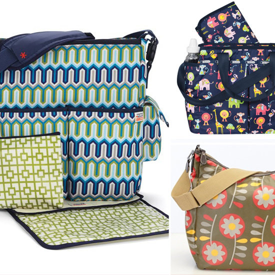 Beat the Winter Blahs With a Bold Diaper Bag