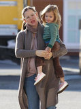 Seraphina Affleck found a good post on Jennifer Garner's baby bump.