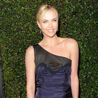 Charlize Theron Golden Globe Nominations Pictures