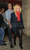 Britney and Jason saw Rock of Ages while in London in  November 2011.