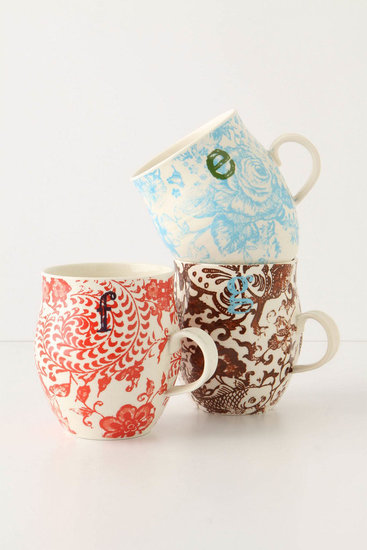 Most people leave hostess gifts to the last minute, so keep things personal with a patterned monogram mug ($8) that shows some extra thought. Alongside wine bottles and generic vases, your gift is sure to stand out.