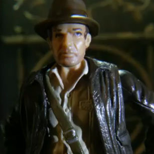 Indiana Jones Stop-Motion Video