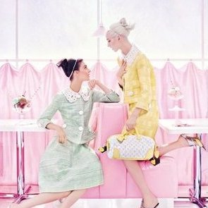 Louis Vuitton Spring 2012 Campaign Photos