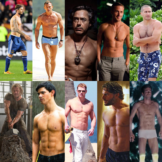 Who is the fittest male celeb of 2011?