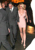Jason and Britney held hands.