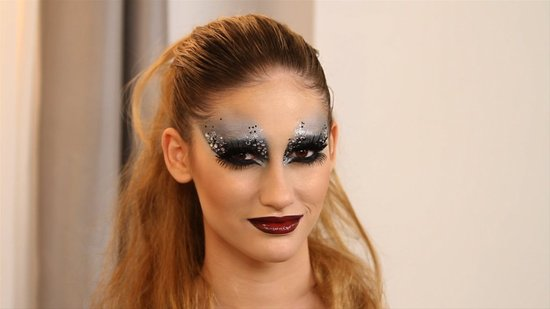 This Look Is the Last Word in New Year's Eve Glitter and Glamour