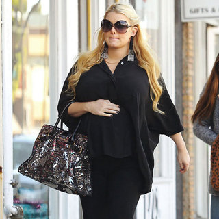 Jessica Simpson Pregnant Wedding Dress Shopping Pictures