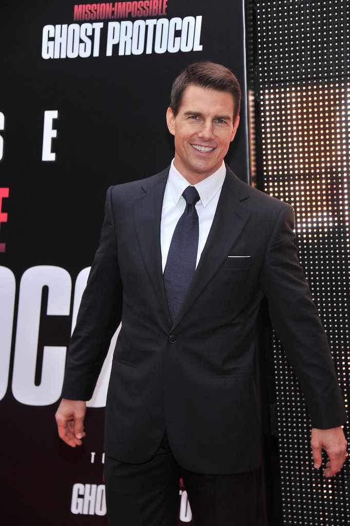 Tom Cruise at the MI4 premiere in NYC.