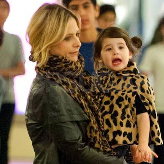 Sarah Michelle Gellar and Charlotte Prinze out shopping.
