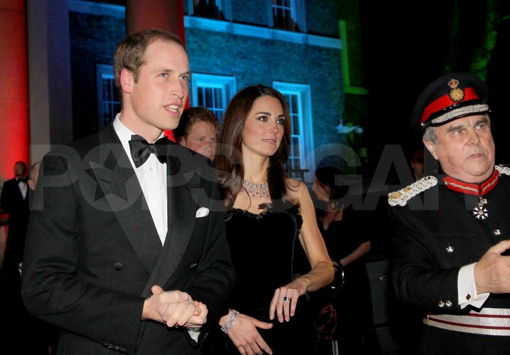 Kate Middleton followed Prince William into the Imperial War Museum.