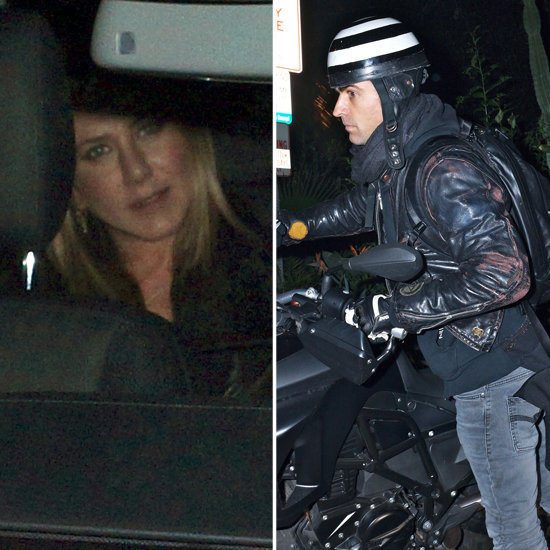 Jennifer Aniston and Justin Theroux Have a Spicy Date Night