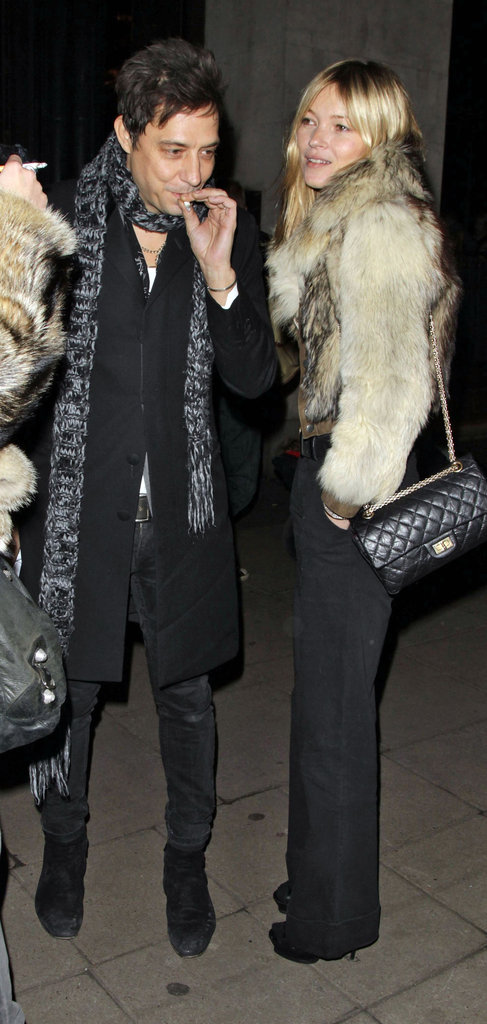 Kate Moss and Jamie Hince spent Saturday out in London.