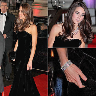 Kate Middleton in Alexander McQueen Sun Military Awards 2011