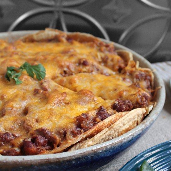 Chorizo Enchilada Pie