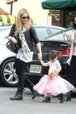 Sarah Michelle Gellar and Charlotte Prinze left ballet.