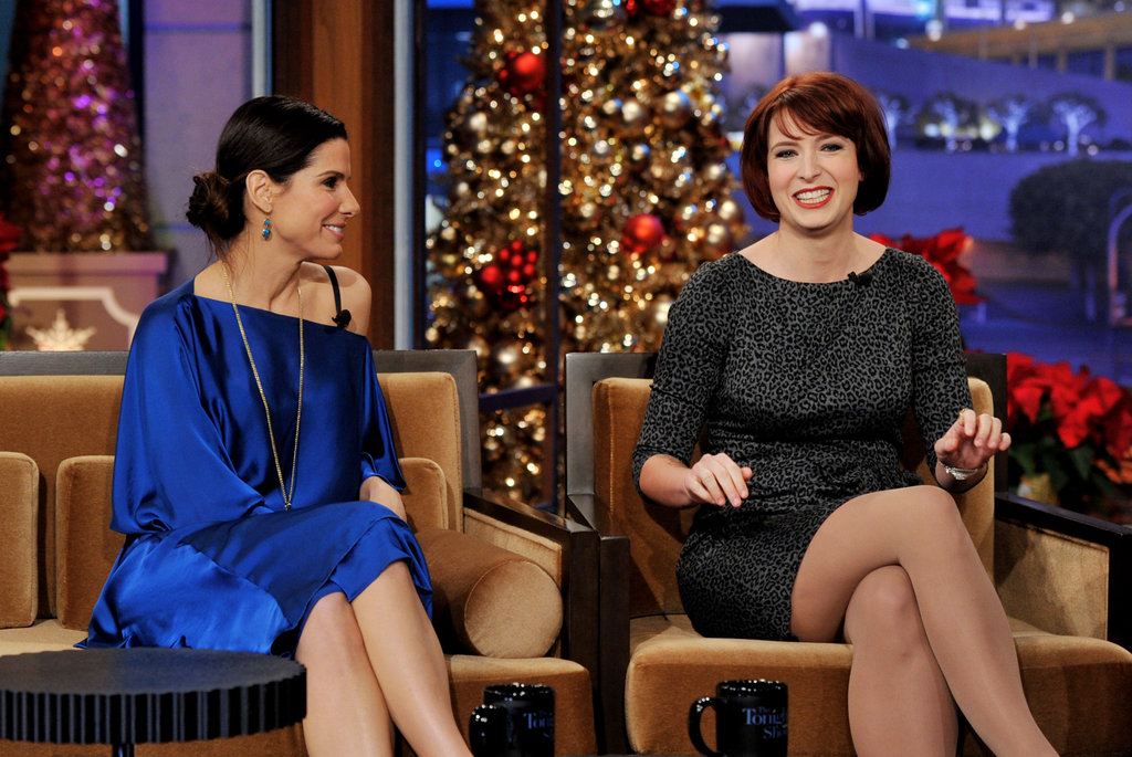 Sandra Bullock and Diablo Cody had fun together on a talk show.