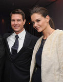 Katie Holmes and Tom Cruise partied together for the NYC premiere of Mission: Impossible — Ghost Protocol.