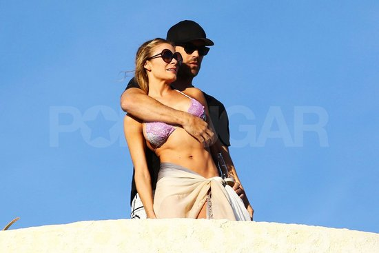 LeAnn Rimes Cuddles With Eddie Cibrian in Her Bikini