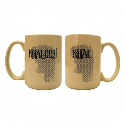 Khal and Khaleesi Mugs