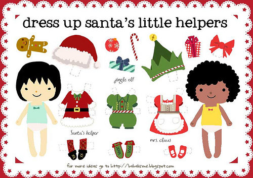 Dress Up Santa&#039;s Little Helpers