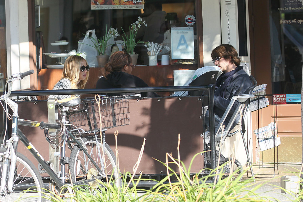 Rachel Zoe, Rodger Berman, and Skyler Berman went to lunch together in LA.