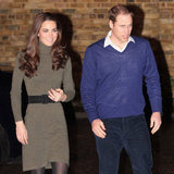 Prince William and Kate Middleton Sweater Dress Pictures at Centrepoint