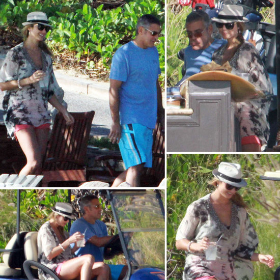 George Clooney and Stacy Keibler Sneak Off to Cabo For Their Latest Holiday Vacation