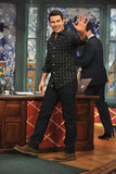 Tom Cruise made a handsome entrance on Late Night With Jimmy Fallon.