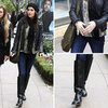 Camilla Belle Wearing a Leather Jacket Dec. 20, 2011
