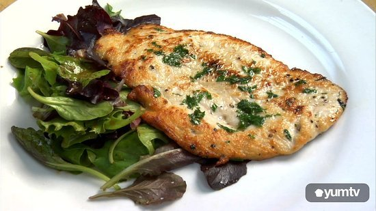 Easy Dinner: Elegant Chicken Paillard With Ponzu Dressing