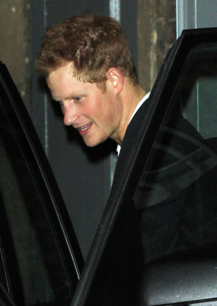 Prince Harry spent the night out at London's Arts Club.