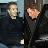 Prince Harry and David Beckham Go Clubbing Together!