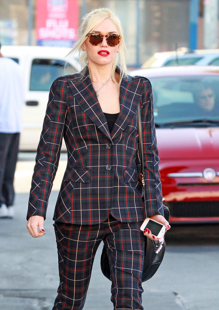Gwen Stefani got errands done on a Wednesday in LA.
