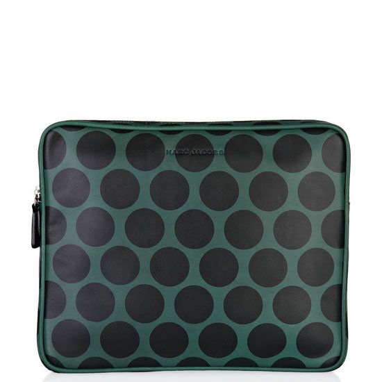 Marc Jacobs Leather Polka Dot iPad Case