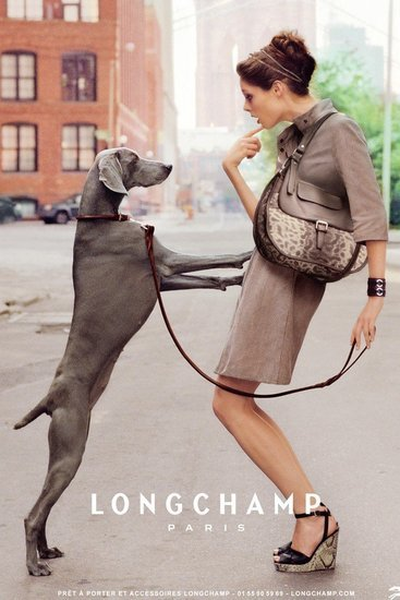 Coco Rocha looks polished in the Longchamp 2012 Spring ad campaign. Source: Fashion Gone Rogue