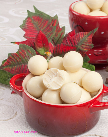 white chocolate truffle