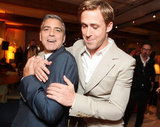 Ryan and his The Ides of March costar George Clooney pal around at the Toronto Film Festival.