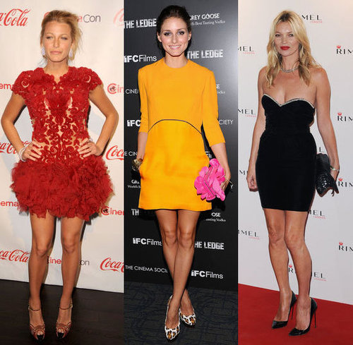 The Sexiest Celebrity Minidresses of 2011: See Kate Moss, Olivia Palermo, Blake Lively, Selena Gomez Get Their Legs Out