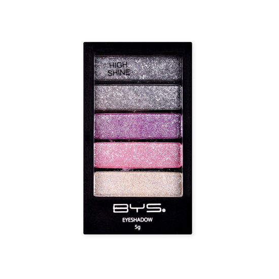 BYS Eyeshadow 5 Piece Horizontal High Shine, $2.30