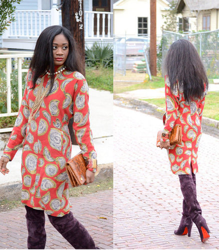 Dressy winter... a look away from layering