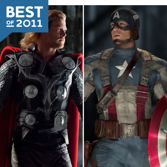 The Year in Superheroes