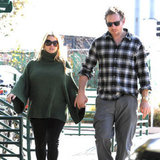 Jessica Simpson and Eric Johnson held hands while running errands in LA.