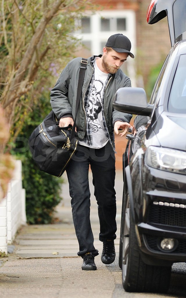 Robert Pattinson left his parents' London home.