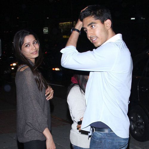 Dev Patel and Freida Pinto Pica Dinner Pictures in LA