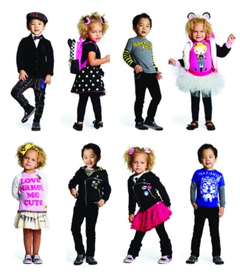 Favorite New Kids&#039; Clothing Line: Harajuku Mini 