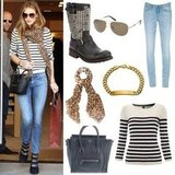 Get Rosie Huntington-Whiteley's Casual Cashmere Style