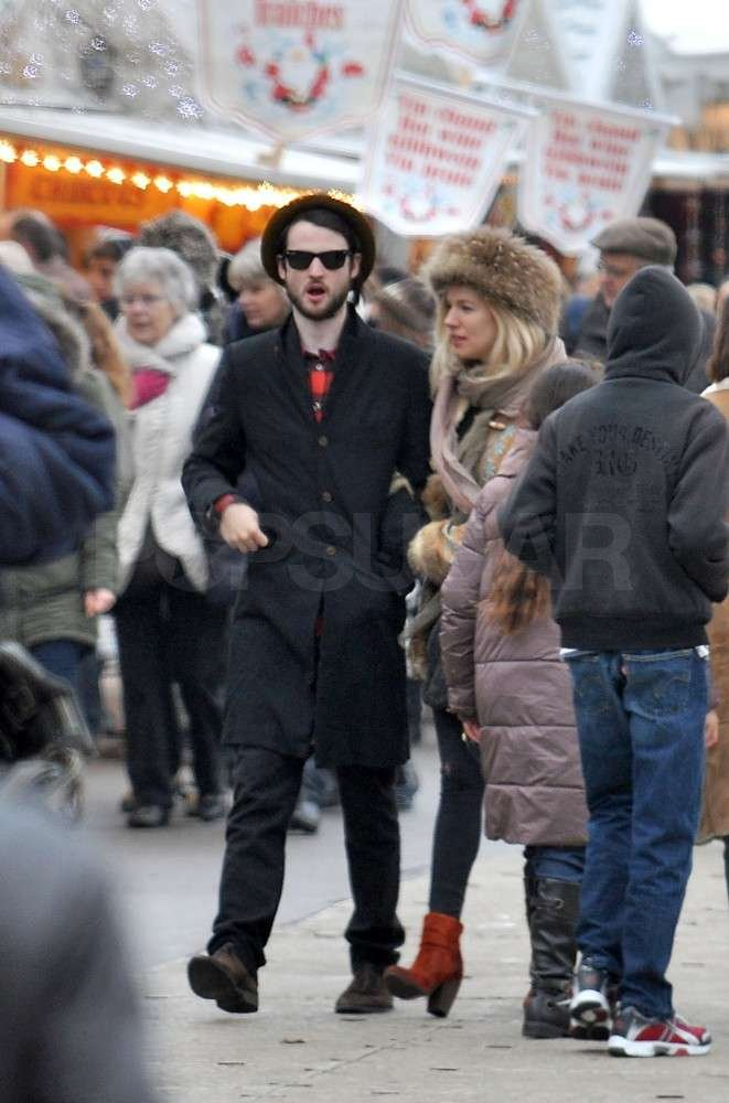 Tom Sturridge and Sienna Miller took a holiday in Paris.