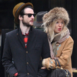 Sienna Miller and Tom Sturridge Cuddle in Paris Pictures